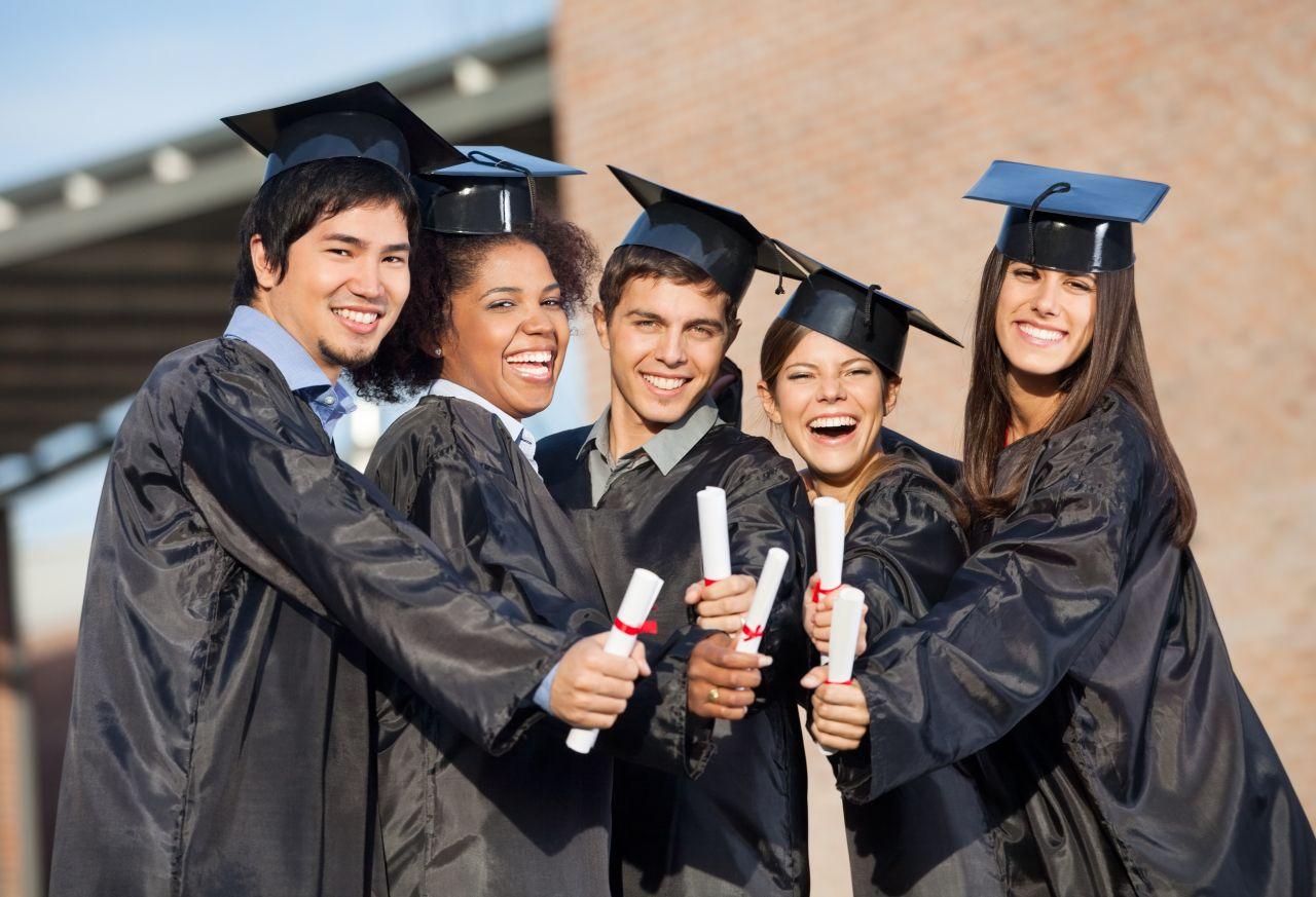 Studenti vysoké školy v Holandsku